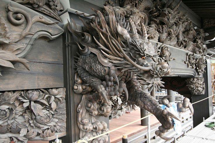 龍 彫刻 Sculpture - Japanese Garden&Art - 念佛宗(念仏宗無量寿寺) 兵庫県加東市 | by 念仏宗無量寿寺(念佛宗) Art Project