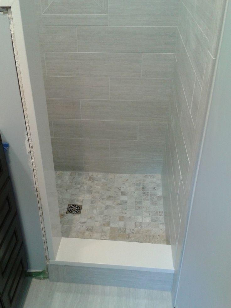 Small Bathroom Stand Up Shower Tile Bathroom Tile