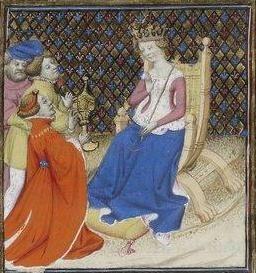 Giovanni Boccaccio, De Claris mulieribus; Paris Bibliothèque nationale de France MSS Français 598; French; 1403, 159r. http://www.europeanaregia.eu/en/manuscripts/paris-bibliotheque-nationale-france-mss-francais-598/en