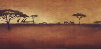 Serengeti I Art Print by Tandi Venter