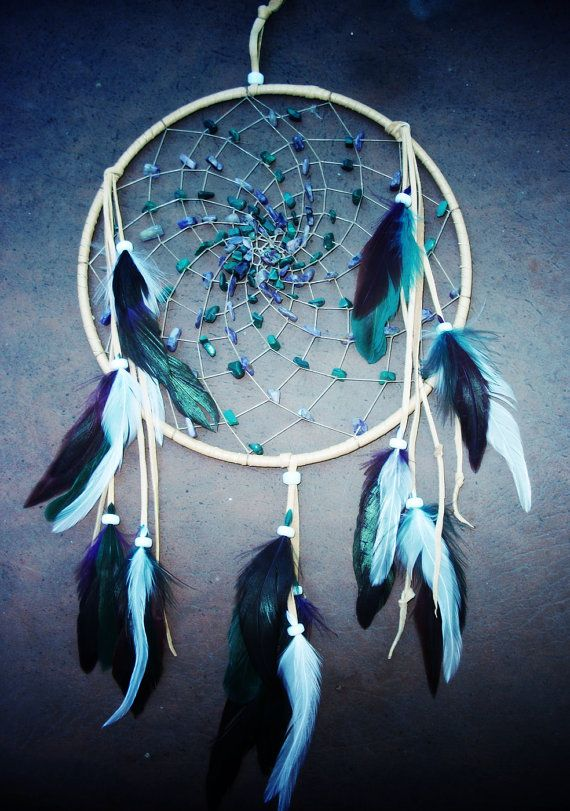 Dream Catcher featuring Amethyst and by 7WishesDreamcatchers, $35.00