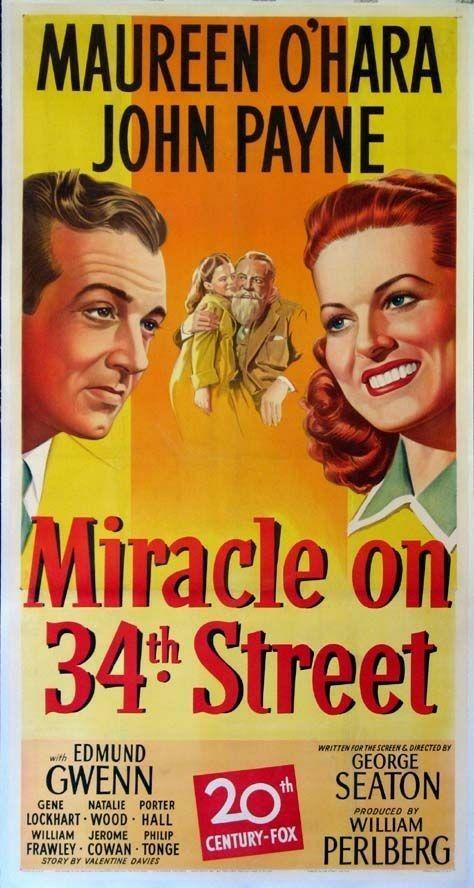 Miracle on 34th Street (1947) John Payne, Maureen O'Hara, Natalie Wood