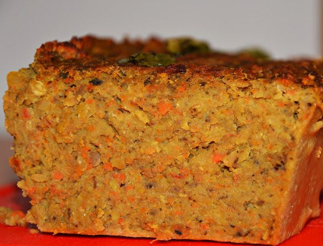 Pasztet wegetariański z marchewką i pieczarkami :)
