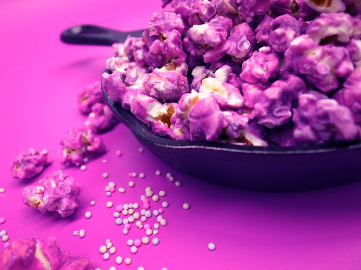 Purple popcorn for our #tangledparty would have been awesome!!