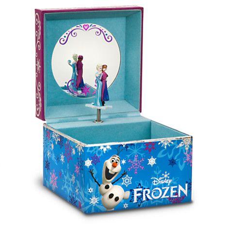 Disney's Frozen Elsa Let It   Details about Disney Store Frozen Musical Jewelry Box Queen Elsa ...
