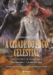 Livros e marcadores: Passatempo: A Cidade do Fogo Celestial