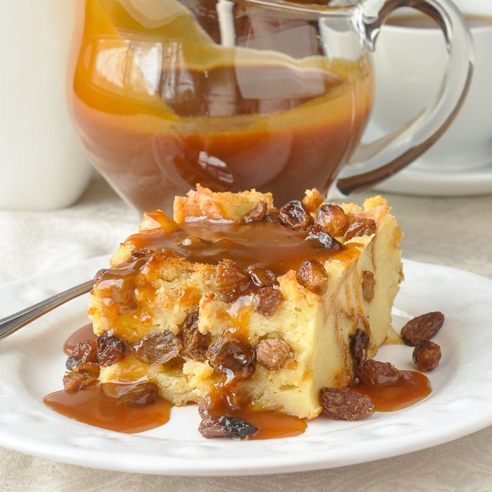 Rum Raisin Bread Pudding- an old fashioned favourite dessert that takes only a few simple ingredients to create something exceptionally delicious.