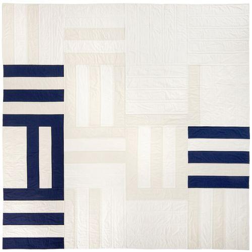 "untitled, roman stripe variation 80"" x 80""  2013"