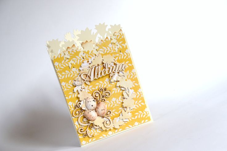 Easter card  scrabooking by Bluebell