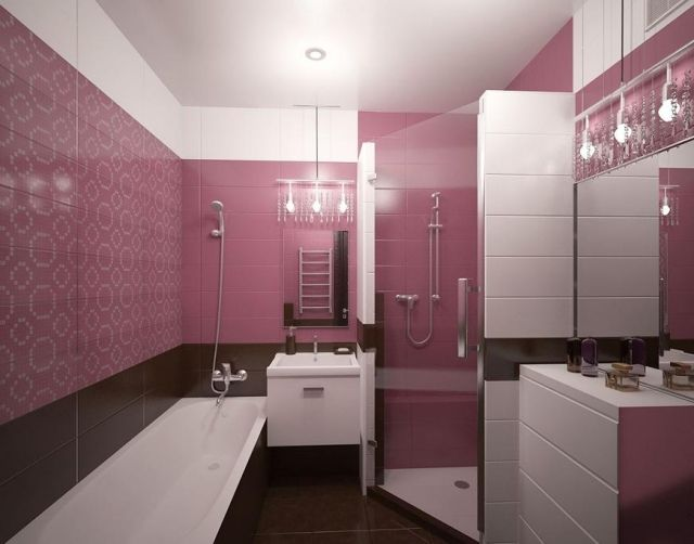 Die besten 25+ Rosa fliesen Ideen auf Pinterest marokkanische - moderne badrenovierung idee gestaltung