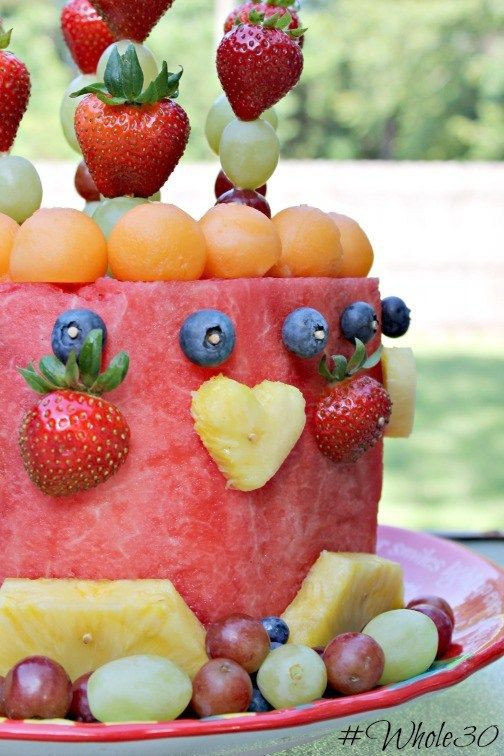 """Celebrate your whole30 birthday with this whole30 compliant """"cake"""""""