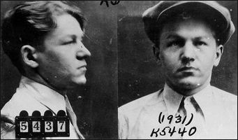 """""""Baby Face"""" Nelson was born Lester M. Gillis on December 6, 1908, in Chicago, Illinois. He roamed the Chicago streets with a gang of juvenile hoodlums during his early teens. By the age of 14, he was an accomplished car thief and had been dubbed """"Baby Face"""" by members of his gang due to his juvenile appearance. Nelson's early criminal career included stealing tires, running stills, bootlegging, and armed robbery."""