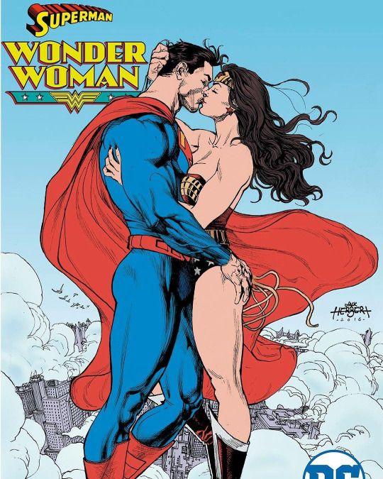 Superman & Wonder Woman by Jack Herbert