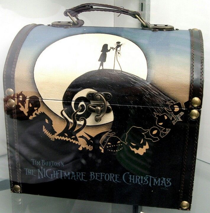 Nightmare Before Christmas lunchbox | Jack and Sally | Pinterest