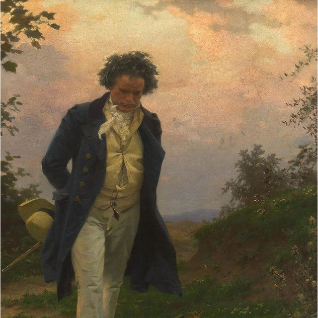نتيجة بحث الصور عن Beethoven And Piano Painting Painting Art Beethoven