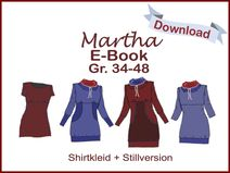 "E-Book ShirtKleid ""Martha"" inkl. Stillversion"