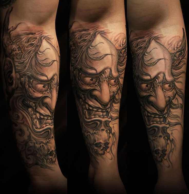 30 best oni demon tattoo images on pinterest japanese tattoos tatoos and design tattoos. Black Bedroom Furniture Sets. Home Design Ideas
