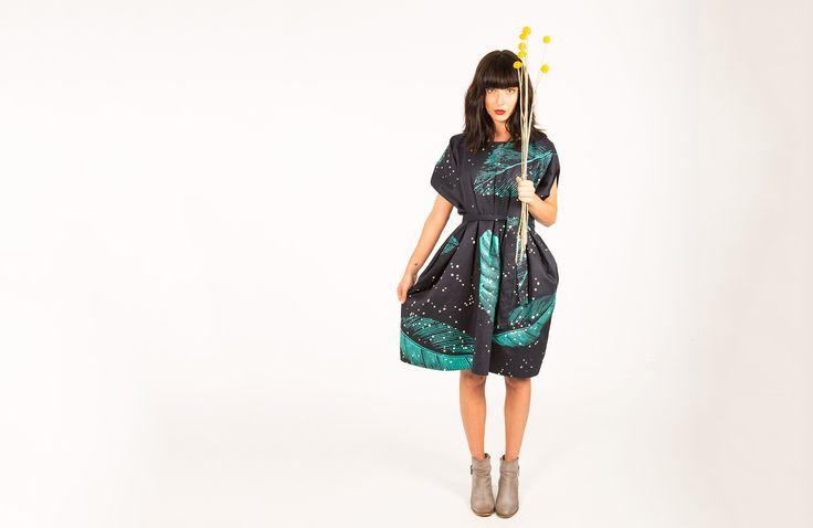 Square Dress : Leaves