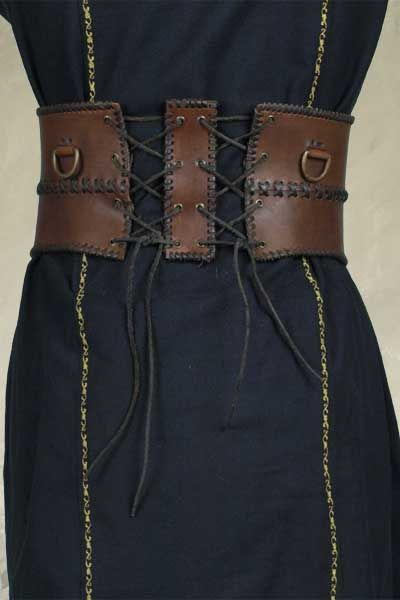 Broad Belt - Brown - Large, Larp Inn- Belts - Epic Armoury- For LARP, theatre and film