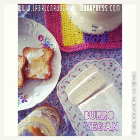 Burro vegan autoprodotto 100%  vegetale senza olio di palma