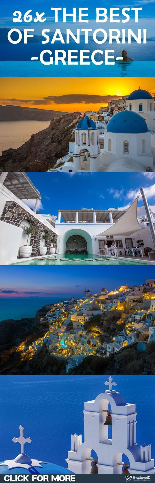 Santorini Greece is truly a magical destination, especially when you visit in the off season. We fell in love with Santorini during our seven-day escape. See all travel photos here: >