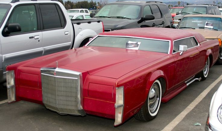 Lincoln Town Car Chop Top Projecting The Car Pinterest Cars