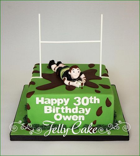 rugby cake topper - Google Search