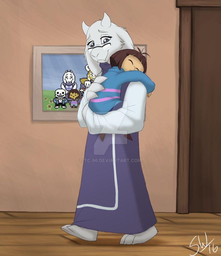Undertale - Goat Mom by TC-96.deviantart.com on @DeviantArt