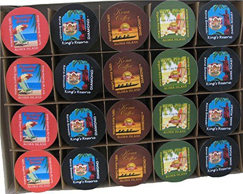 Gift of Kona Single-Serve Cups, for Keurig K-cup Brewing Systems, Pure Kona and Kona Hawaiian Coffee, Gift Boxed for Valentines, Mothers Day, Fathers Day and all Occasions, 20 Kona One-Cup Variety Pack Gift - http://teacoffeestore.com/gift-of-kona-single-serve-cups-for-keurig-k-cup-brewing-systems-pure-kona-and-kona-hawaiian-coffee-gift-boxed-for-valentines-mothers-day-fathers-day-and-all-occasions-20-kona-one-cup-variety-pac/