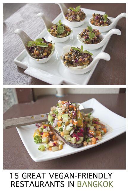 15 vegan and vegan-friendly restaurants in #Bangkok #thailand #vegan #vegetarian