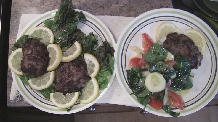 Angelo's Mom Makes Bifteki - Greek Hamburger & Salad