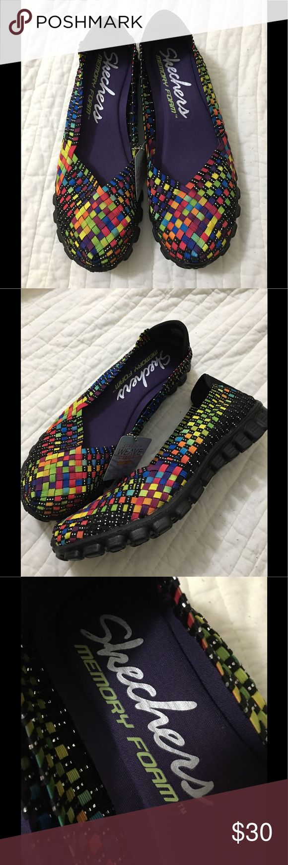 Skechers Shoes Multi-color Stretch weave by Skechers with memory foam. Skechers Shoes