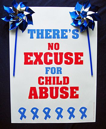 CHILD ABUSE AWARENESS MONTH There should be harsher punishment for people that abuse children