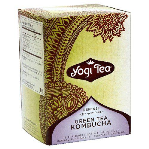 Yogi Tea, Green Kombucha, 16 Bags