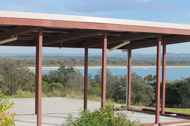 View from the former Crowdy Head Public School - good back up plan