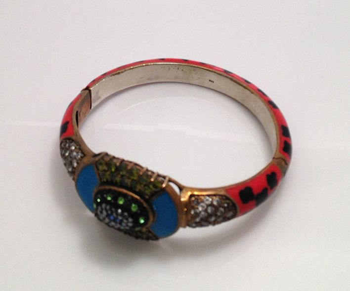 Colorful handmade bangle. www.springjewelry.ecrater.com