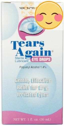 #new Polyvinyl #Alcohol 1.4%. Gentle, effective relief for dry, irritated #eyes. Doctor recommended dry eye relief.