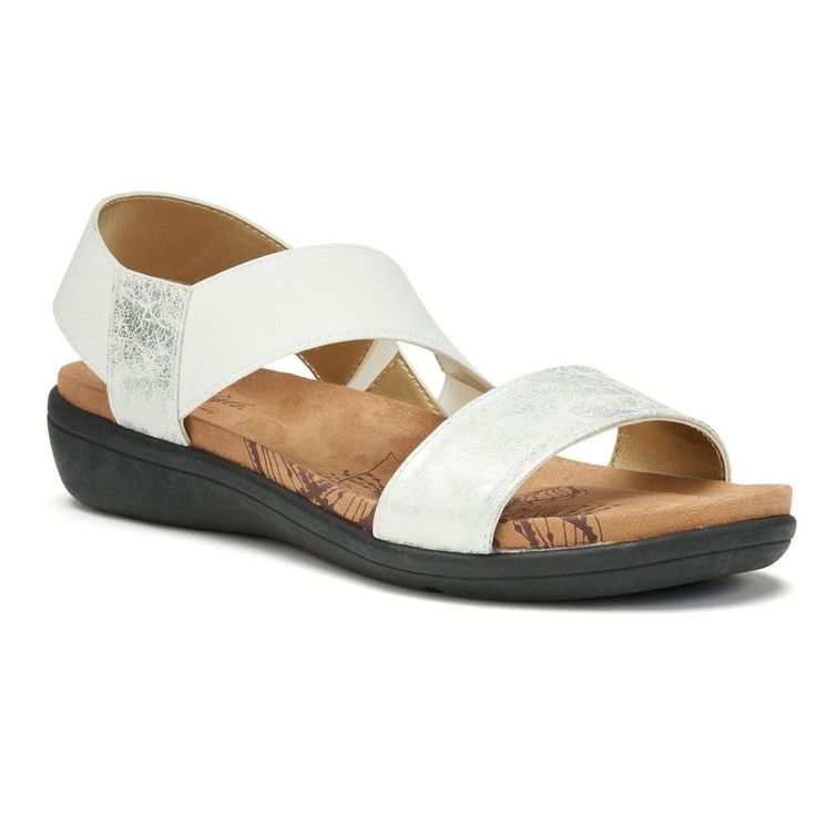Soft Style by Hush Puppies Prema Women's Slingback Sandals, Size: medium (7.5), White