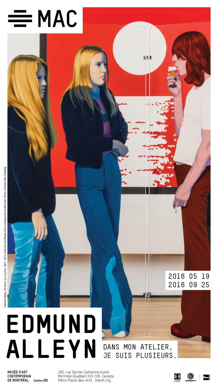 MAC EDMUND ALLEYN 19 mai au 25 septembre 2016. Mettant en valeur près d'une cinquantaine d'œuvres – peintures, dessins, films et œuvres technologiques – cette exposition rétrospective jettera un regard sur les travaux créés de la fin des années 1950 jusqu'au début des années 2000. Chacune des œuvres sera représentative des principales périodes traversées par l'artiste et l'ensemble sera tiré de collections muséales québécoises et canadiennes. Une sélection d'œuvres inédites sera aussi…