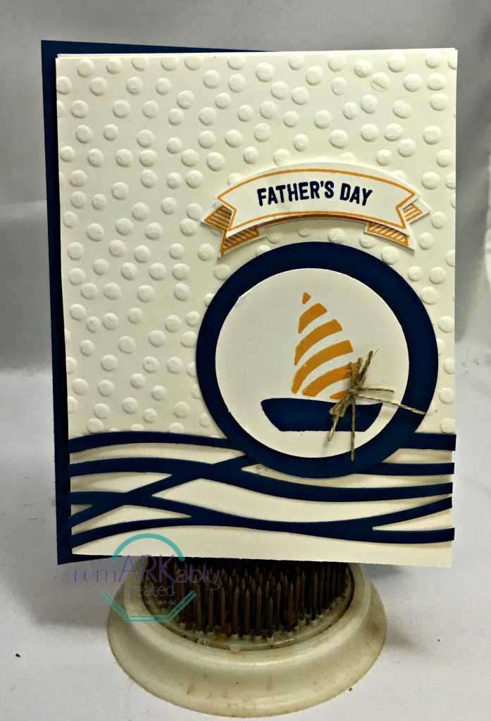 Stampin' Up! Swirly Bird, Stampers Dozen May Blog Hop - RemARKable Creations