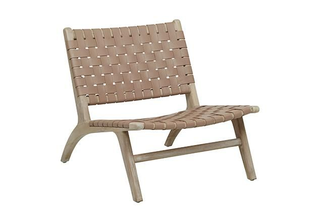 GlobeWest - Anja Weave Occasional Chair