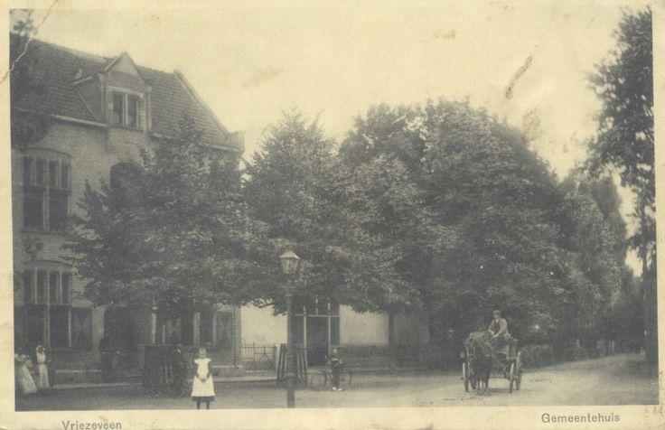 oude gemeentehuis Vriezenveen. Heel oud