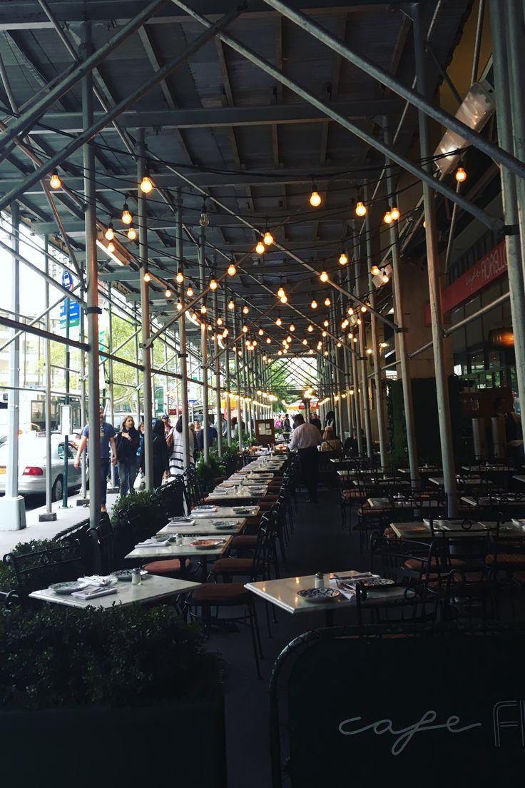 #lights #restaurant #inspo #food #nyc