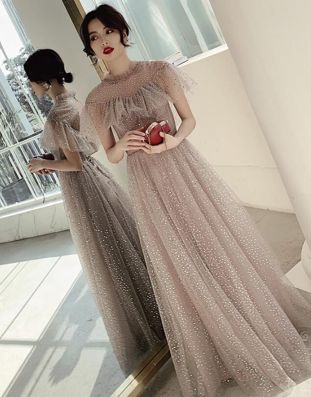 Lovely Sequins New Style Long Prom Dress 2020 Wedding Party Dress Prom Dresses Long Prom Dresses Dresses