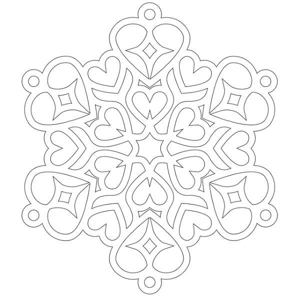 Mandala Art Free Coloring Pages | Heart Mandala Coloring Pages | Coloring Pages Trend