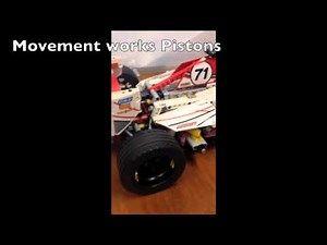 Lego Formula 1 Car