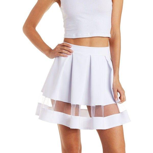 25 best ideas about white skater skirt on