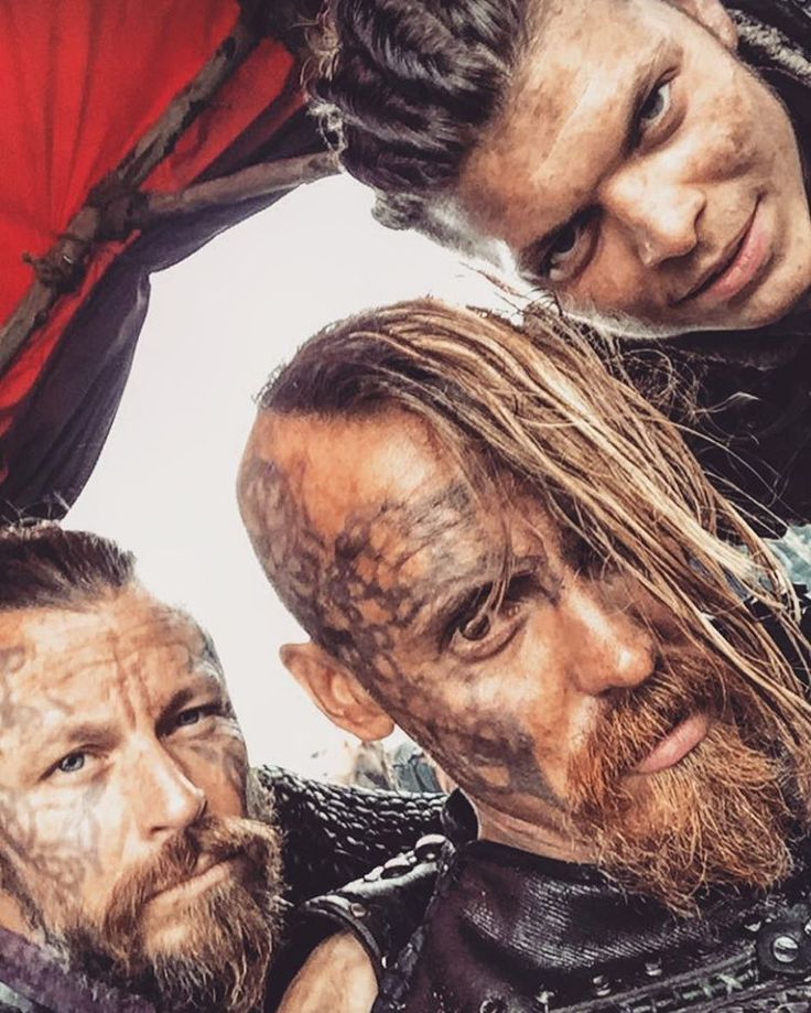 Harald, Halfdan, Ivan - Vikings