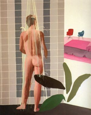 Ilustración David Hockney.