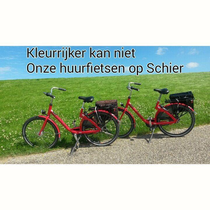 https://flic.kr/p/J2ubMX | Our rent bicycles on Schiermonnikoog